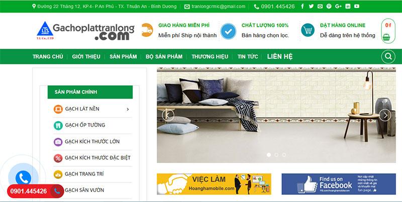 Thiết kế bán hàng nội thất