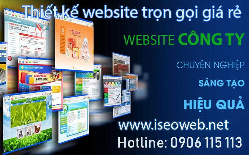 TOP Thiết Kế Web Tại Long Khánh Giá Rẻ Chuẩn SEO - NHANH TOP
