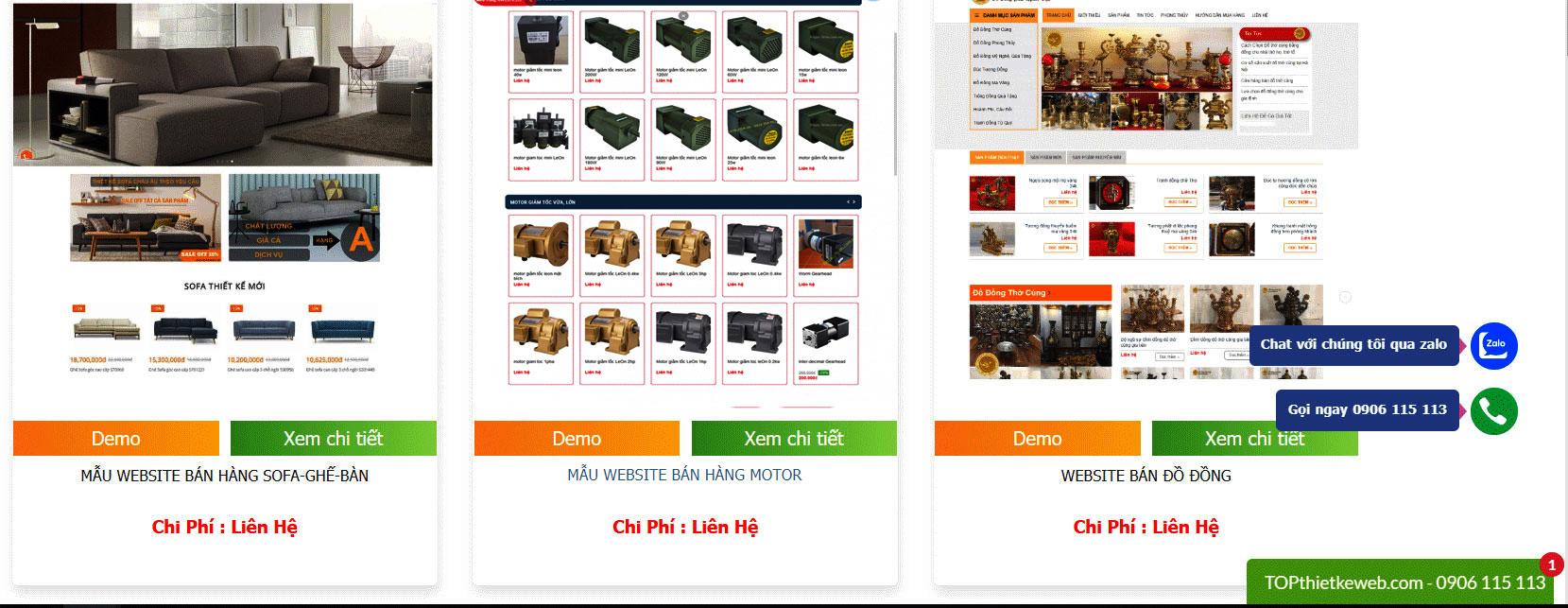 Thiết kế website tại Bình Dương, Thủ Đức TPHCM